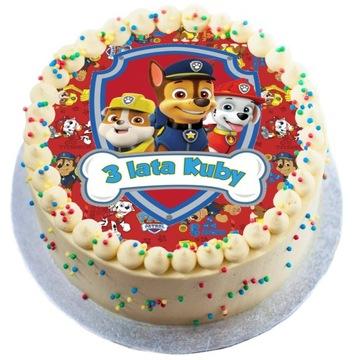 Персонализированный торт Щенячий патруль