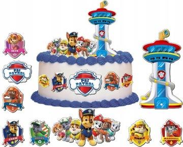 Набор для изготовления 3д персонажа для торта PSI PATROL