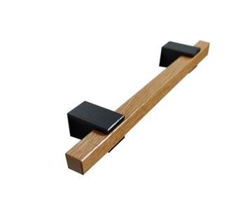 Мебельная ручка из дерева, дуба Перила, длина 198 мм