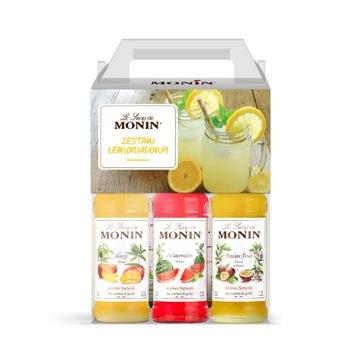 Лимонадный сироп Monin смесь вкусов 3x250мл