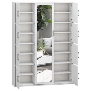 Шкаф для прихожей 140 см белый sonoma