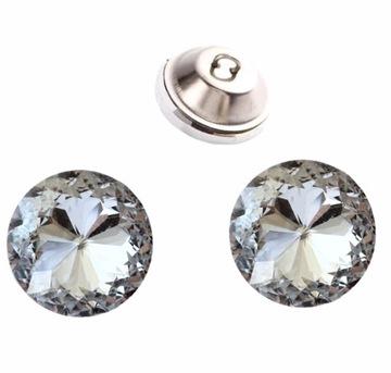Обивка пуговицы хрустальные кристаллы 20 мм
