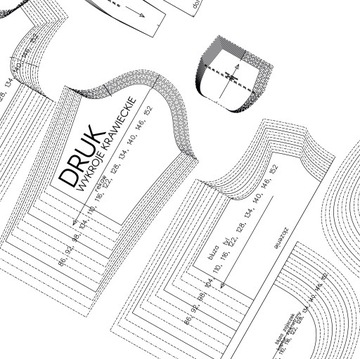 Печать выкройки - формат А0 (1189х841 мм)