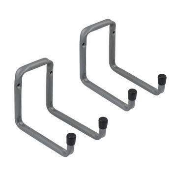 2x Крюк гаражный двойной H2U 220x120