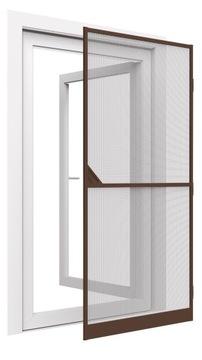 Дверная москитная сетка, алюминий 100х215, бронза