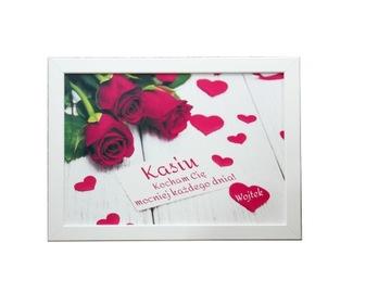 Подарочная рамка на День святого Валентина для влюбленных Розы