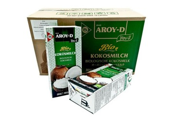 Aroy-D Bio COCONUT молоко без консервантов 12x1л