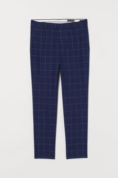 Spodnie garniturowe Skinny Fit H&M r.50