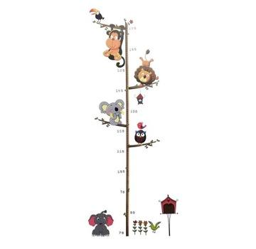Наклейка на стену для измерения высоты животных