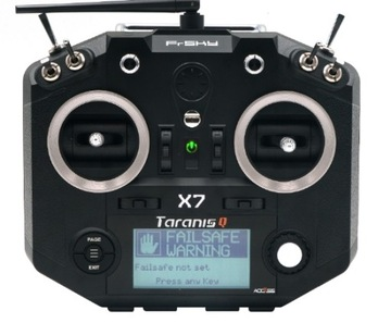 Frsky QX7 taranis Access fpv дрон-самолет