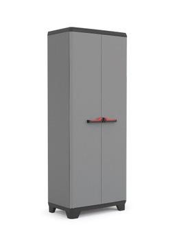 Шкаф высокий пластиковый 173см WARSAW