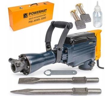 Отбойный молоток Powermat PM-MWB-3000 45 J 3000 W