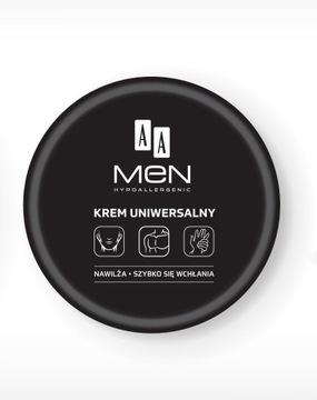 AA MEN Krem uniwersalny twarz ręce ciało aż 125 ml