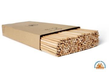 Палочки деревянные для мороженого круглые 36CM 100шт.