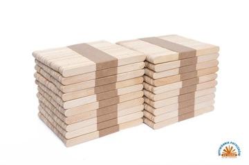 Палочки для мороженого деревянные 13,3см прямые 1000шт.