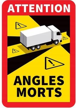 Магнитные наклейки MAGNES Morts TIR