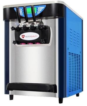 Итальянский автомат по продаже мороженого 2 вкуса + микс