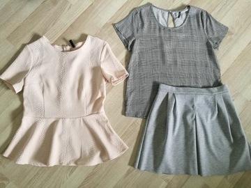 Zestaw eleganckich ubrań damskich - rozmiar 38 (M)