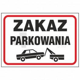 Знак НЕТ ПАРКОВКИ 89 / L / P 250x300 PVC