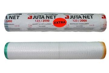 Сельскохозяйственная сетка для соломы, сена 123x2000 JUTA EXTRA