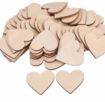Сердечки, сердечки, скребки декоративные, 4см