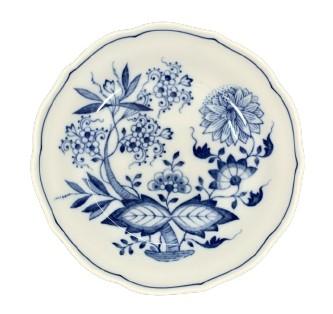 Красивая фарфоровая тарелка - луковый узор!