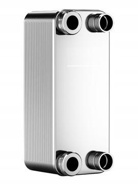 ПЛАСТИНЧАТЫЙ ТЕПЛООБМЕННИК тепловой насос газовый фреон мощность 8.0квт