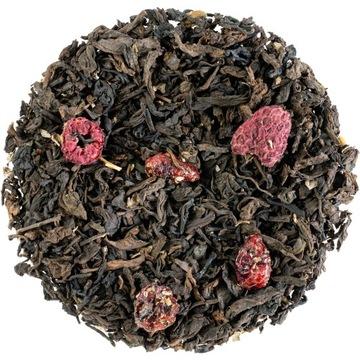 Pu Erh CRANBERRY МАЛИНА Красный чай - 50 г