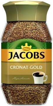 JACOBS Cronat Gold банка растворимого кофе 100 г