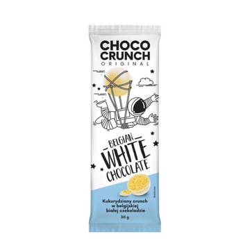 ChocoCrunch БЕЛЬГИЙСКИЙ белый шоколад 30г