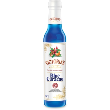 VICTORIA'S BLUE CURACAO барменский сироп 490 мл