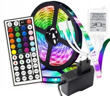 Цветные светодиоды LED STRIP С ДИСТАНЦИОННЫМ УПРАВЛЕНИЕМ ДЛЯ ОСВЕЩЕНИЯ