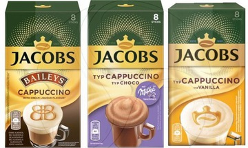 JACOBS CAPPUCCINO MILKA + BAILEYS + Ванильный кофе
