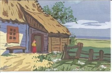 Сельский пейзаж от Król Polski НАПИСАНО ОТ РУЧНОЙ РАБОТЫ