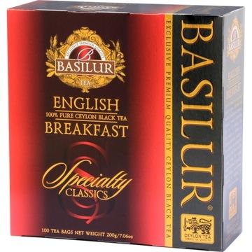 Черный чай Basilur English Breakfast 100х2г