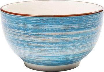 Чаша Swirl Ø14x8 см, синяя, мебельная