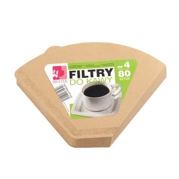Анютины глазки №4 кофейные фильтры бумажные 80 шт.