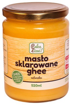 МАСЛО GHEE CLARED NATURAL LICK FINGERS 520ML