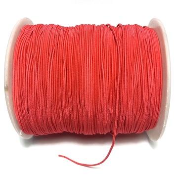 Резина ROUND 1мм для браслетов RED 2MB