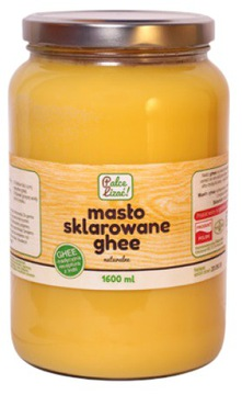 МАСЛО GHEE CLARED NATURAL LICK FINGERS 1600ML