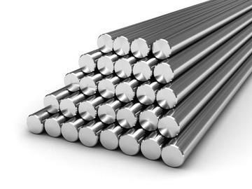 Стержень из нержавеющей стали, диаметр 25 мм, 1.4404 100 см