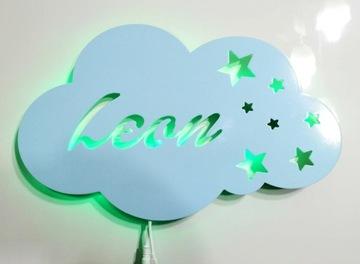 Прикроватная лампа с названием RGB LED cloud NETWORK