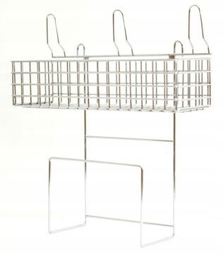 Металлическая подвеска для всасывающего шланга и принадлежностей
