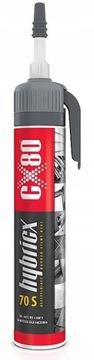 Сверхпрочный монтажный клей HYBRICX 70S 210G CX80