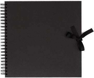 Альбом для скрапбукинга 30,5 см x 30,5 см 40 к. Черный