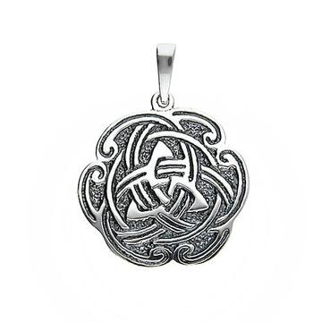 Кельтский узел TRIQUETRA FOR LUCKY SILVER 925