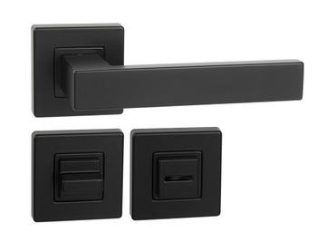 черная ручка ERGO VELVET + туалетные розетки