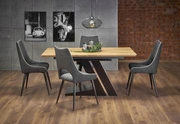 Стол раскладной Ferguson 160 Oak Halmar Loft Style
