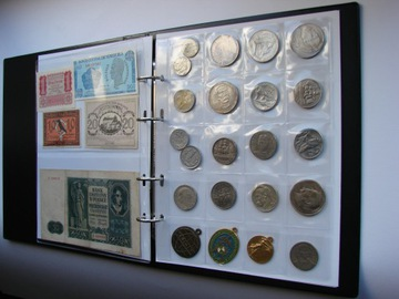 АЛЬБОМ KLASER B5 для монет и банкнот ПРЕВОСХОДНОГО КАЧЕСТВА