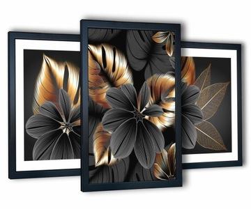 3 картины на стену гостиной 43х99